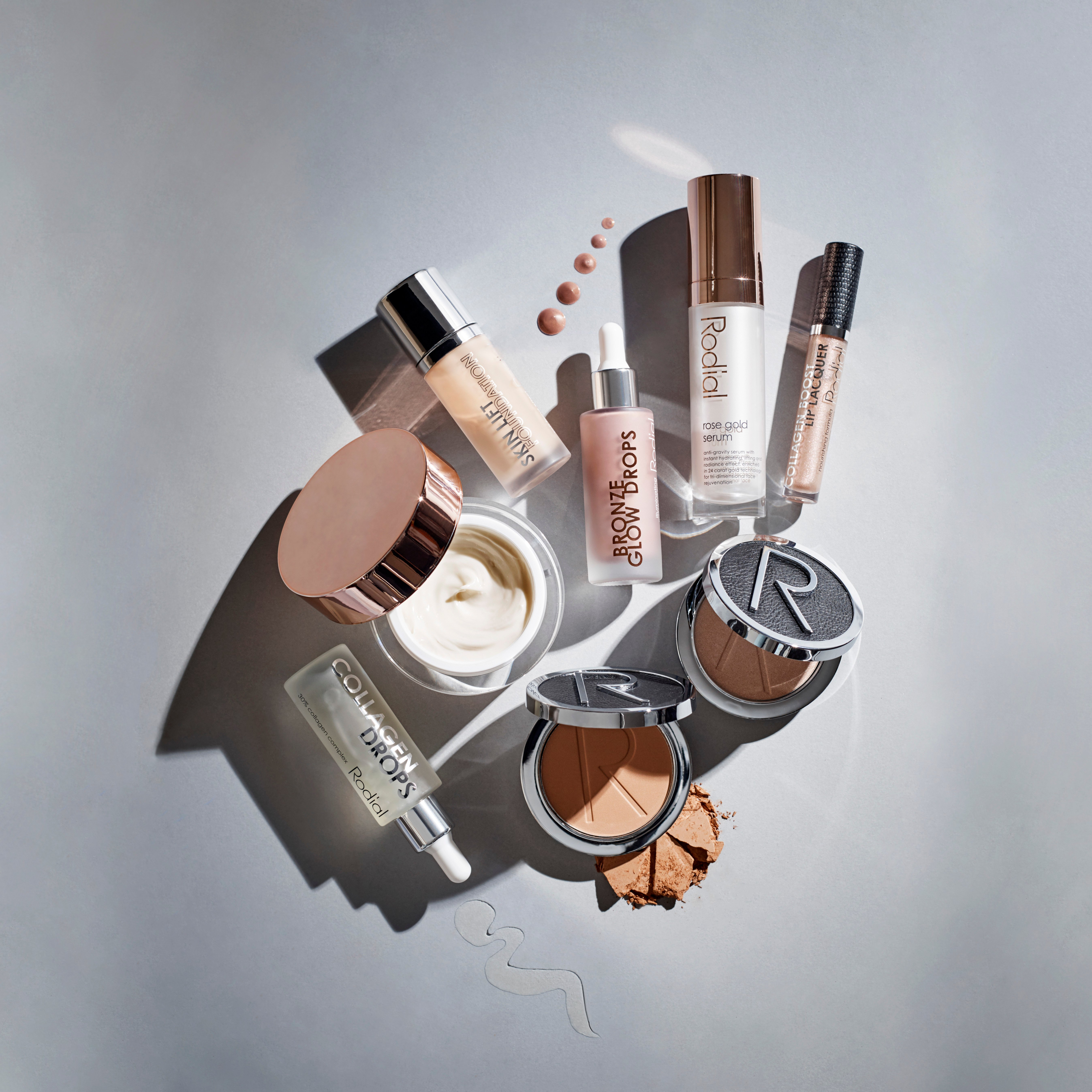 RODIAL Mixed Skin and makeup_Rose Gold